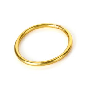 Baan - Classic Bangle Yellow gold Small - 5.5cm in diameter