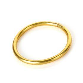 Baan - Classic Bangle Yellow gold Medium - 6cm in diameter