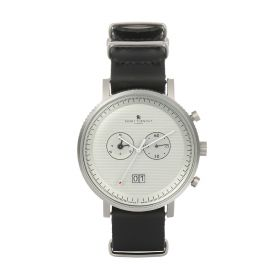 Phantom Watch Black Leather Strap