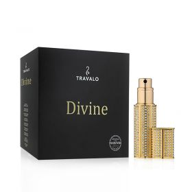 Divine Refillable Fragrance Spray - Gold