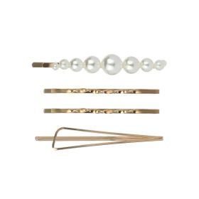 Gold Plated Hairpin Set - Gold