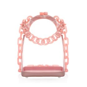 Transparent Shoulder Bag - Pink