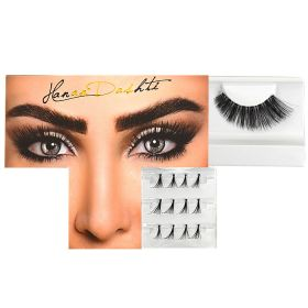 Hanan Dashti Makeup Eyelashes  - Amal