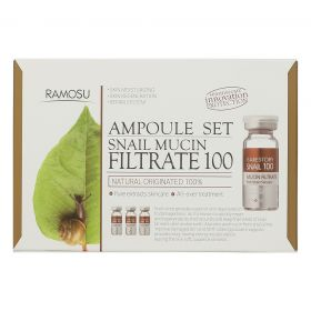 Ramosu - Snail Mucin Filtrate 100 - Ampoule Set - 10*3 ml