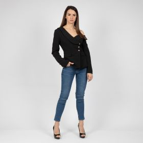 Thorns_GCC - Black Blazer with golden buttons