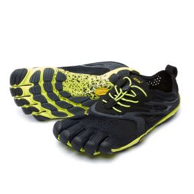 V-Run FiveFingers Shoes -Black/Yellow
