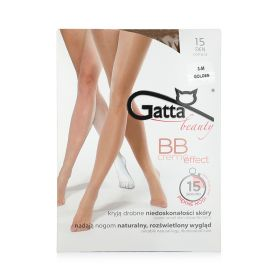 BB Creme Effect 15 Den Tights - Gloden - L
