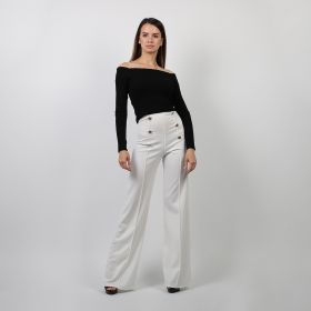 Sailor Pants - White