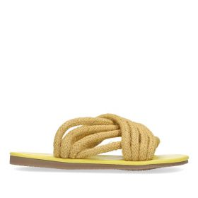 Roped Sandal - Yellow