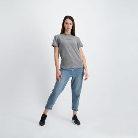 Airplane Mode Cotton T-shirt - Grey