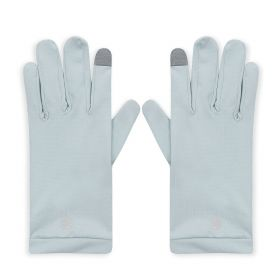 UV Sun Protective Gloves - Blue