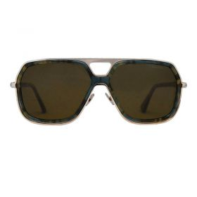 Cutler And Gross Persian Blue Carl Zeiss Ultrapol Sunglasses - N 1176 -  Brown -  Women