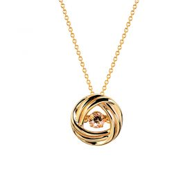 Fervor Montreal Dancing Gems Gold Necklace