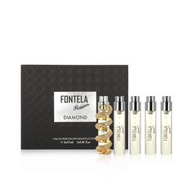 Diamond Eau De Parfum Gift Set - 5x12 ml - Unisex