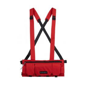 Chest Bag Multipockets - Red
