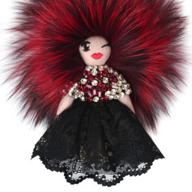 Tchi Tchi - Gloria Diva Red & Crystal Bag Charm