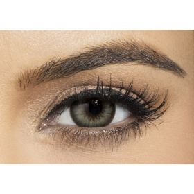 Diamond Plano Contact Lenses - Gray Green - Plano
