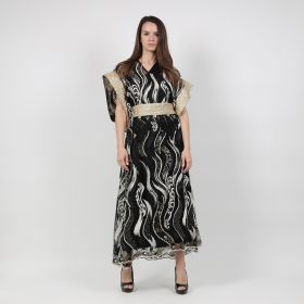 Kaftan - Black/Gold