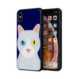 Case Gypsy Cat For iPhone XS Max - Blue