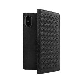 Tejido Folio Case For iPhone XS Max - Black