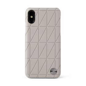 Tokyo Frame iPhone X and XS Phone Case - Taupe
