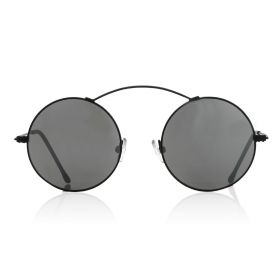 Metro - Silver Mirror/black Sunglasses