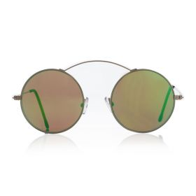 Metro - Green Mirror/Gold Sunglasses