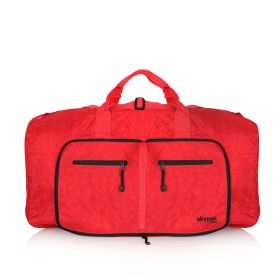 Skypak Large Folding Travel Bag - Red