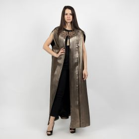 Metallic Cape - Metalic Gold