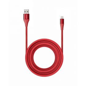 PowerLine+ II Lightning 3m Long - Red