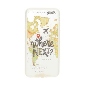 World Map Wallet Case - iPhone Xs Max