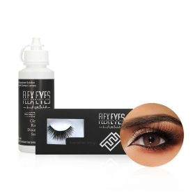 Monthly Contact Lenses Set - Flex Brown