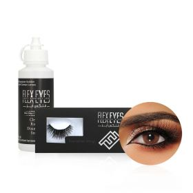 Monthly Contact Lenses Set - Pure Brown
