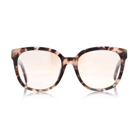 Square Brown & Havana Pink Sunglasses