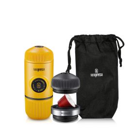 Nanopresso Espresso Coffee Machine + Carrying Bag - Yellow