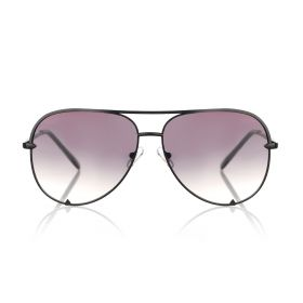 Manor Court Aviator Black Smoke Sunglasses