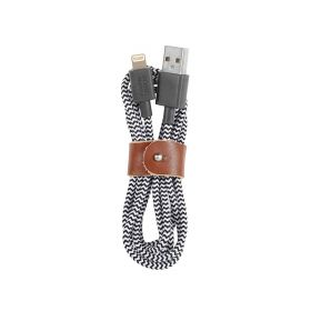 Lightning 1.2 Belt Cable - Zebra