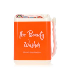 Mini Brush Washing Machine - Orange
