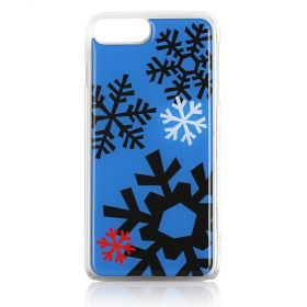Gooey - Snowflakes Blue phone case - iPhone 6S+, 7+, 8+