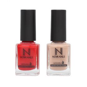 Nova Nails Washable Nail Polish Collection