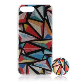 Focus Cases - 3D Triangles Phone Case with Phone Grip - iPhone 7+, 8+
