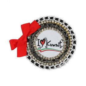 Ralouch Design Brooch - I Love Kuwait