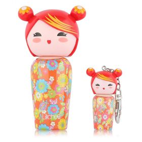 Kokeshi Mini Keyring Miniature 5ml + Eau De Toilette Litchee - 50ml Kids