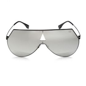 Y8 Black and Silver Sunglasses
