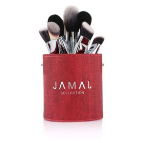 Jamal Collection - Makeup Brush Set For Face - 8pcs