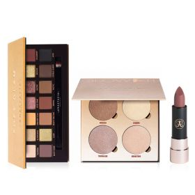 Soft Glam Makeup Set - 3Pcs