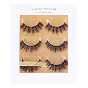 3D Silk Lash Collection - 3Pairs