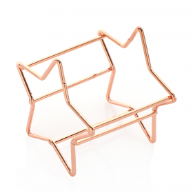 Star Shaped Sponge Holder - Rose Gold