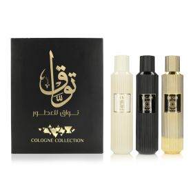 Eau De Cologne Collection - 3 Pcs