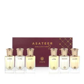Asateer Colllection 2 Perfume Set – 6 Pcs
